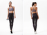 fashion activewear patterned INGOR Brand yoga pants