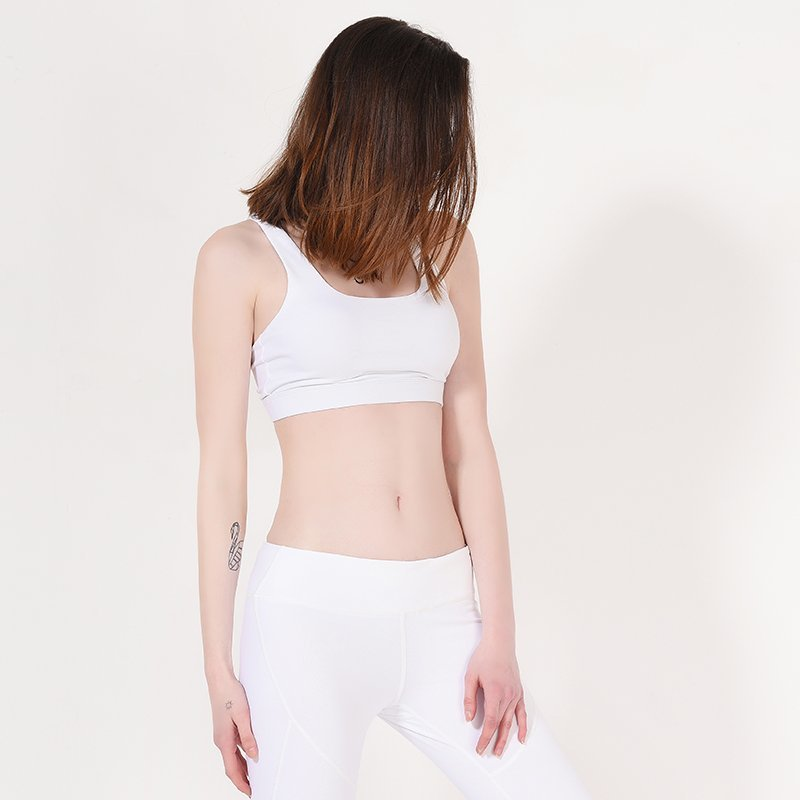 INGOR Ladies White Padded Sports Yoga Bra Y1911B09 Sports bra image16