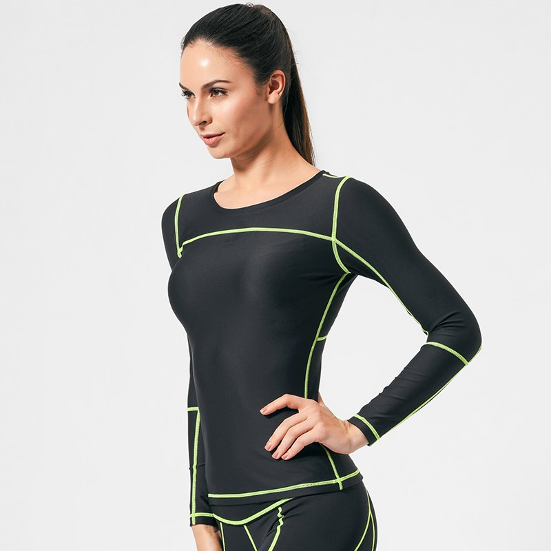 INGOR Long sleeve running compression shirts women GRC16002 Sweatshirt image5