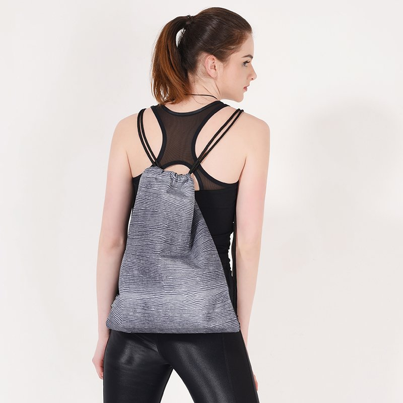 Criss cross mesh custom running tank tops Y1911V02