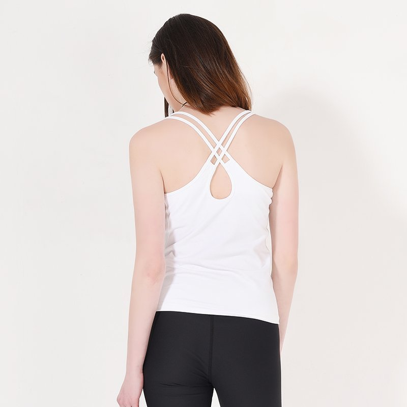 Custom spandex yoga tank top Y1911V01