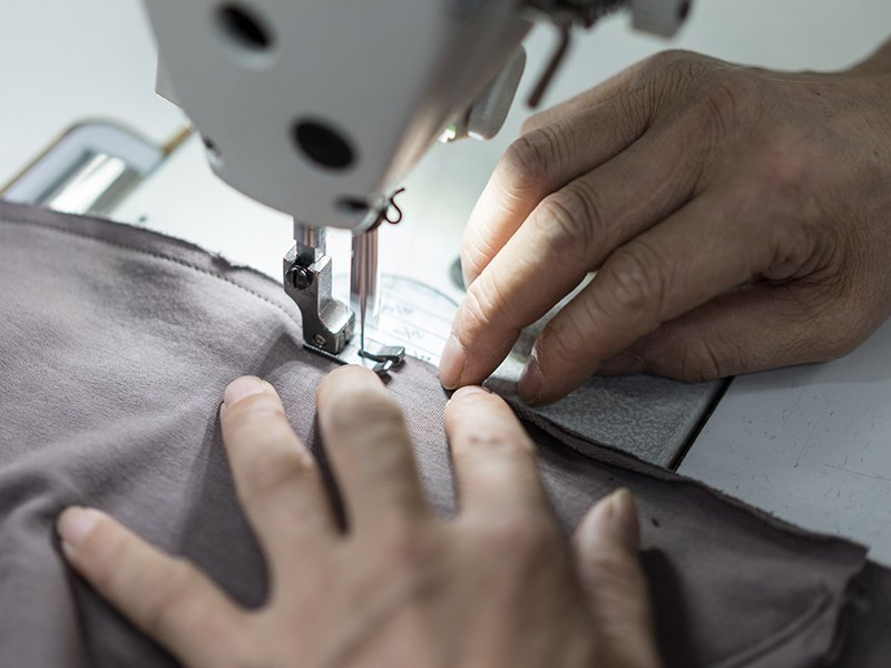 Factory process - Sewing