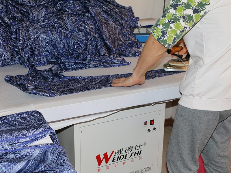 Factory process - Ironing & Packing