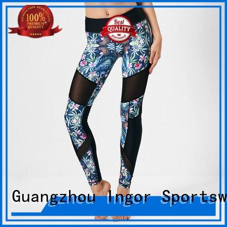 womens printed yoga pants INGOR