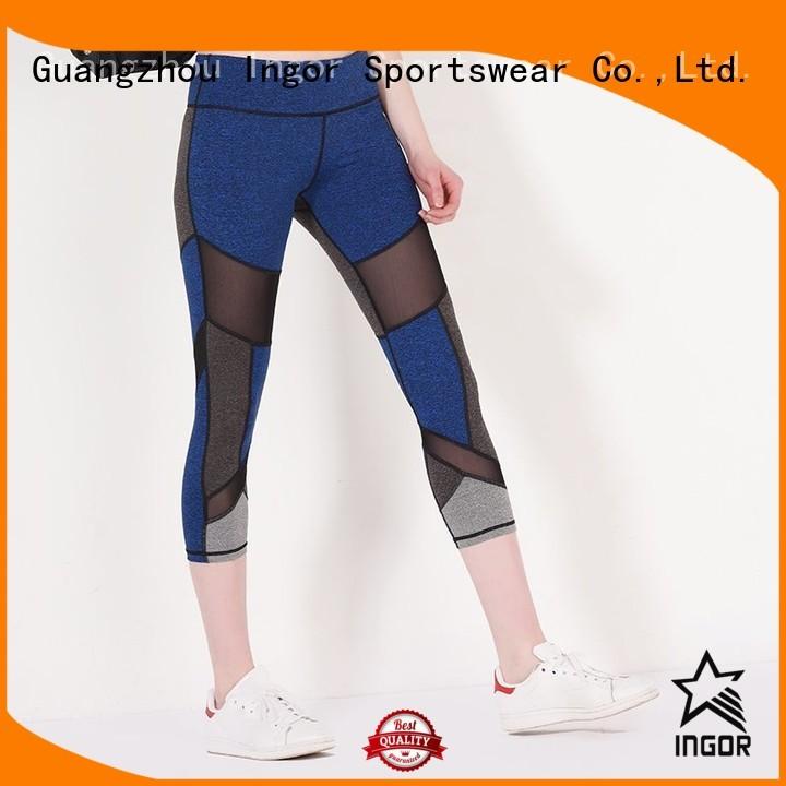 mesh womens activewear yoga pants INGOR