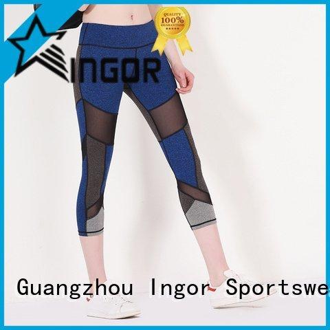workout waist ladies leggings INGOR manufacture