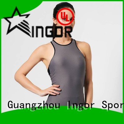 INGOR Brand running tank sports custom women's workout tank tops