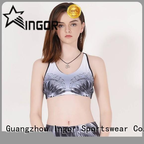 Quality INGOR Brand padded sports bra