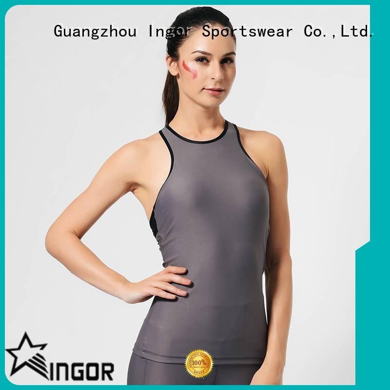 women's workout tank tops workout summer tank top criss INGOR Brand