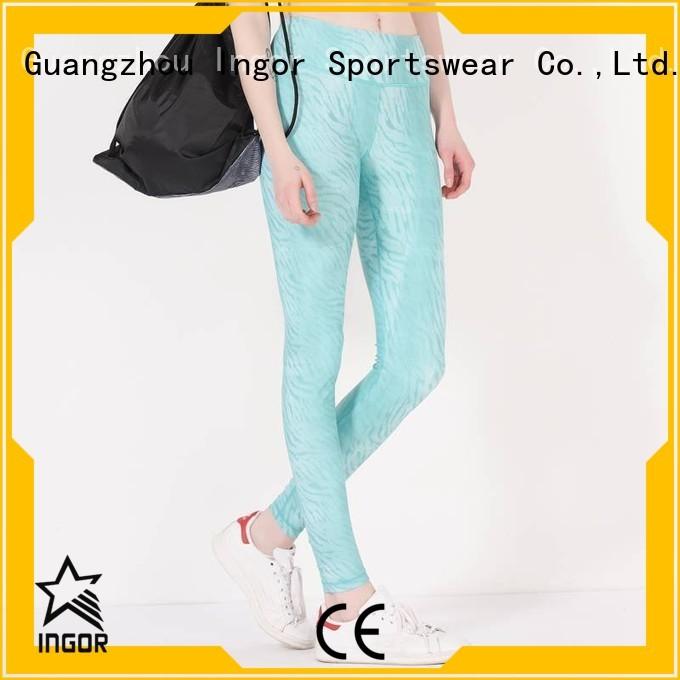 printed pants yoga pants patterned INGOR