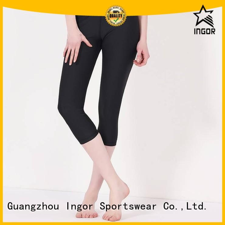 sports mesh ladies leggings leggings floral INGOR Brand