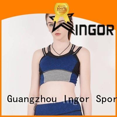 colorful sports bras women sports bra INGOR Brand