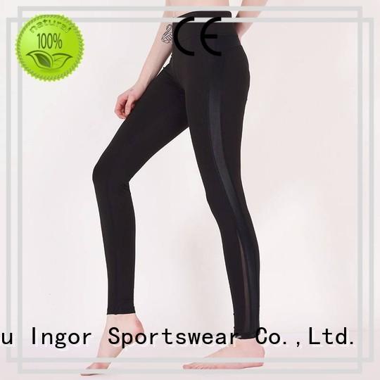 INGOR Brand plain waist custom ladies leggings