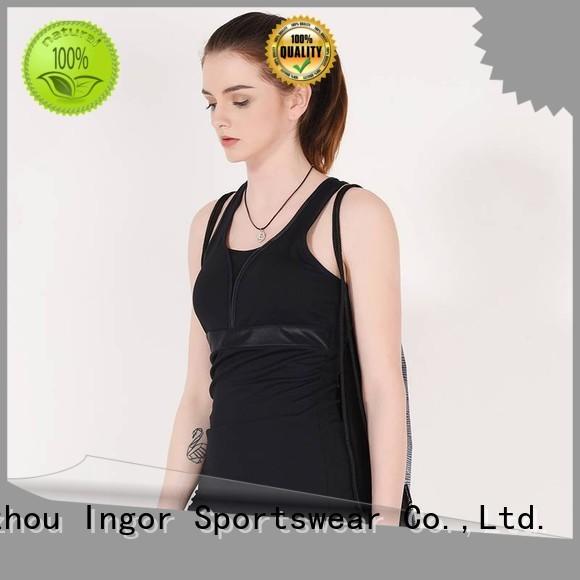 INGOR Brand running tank top cross factory