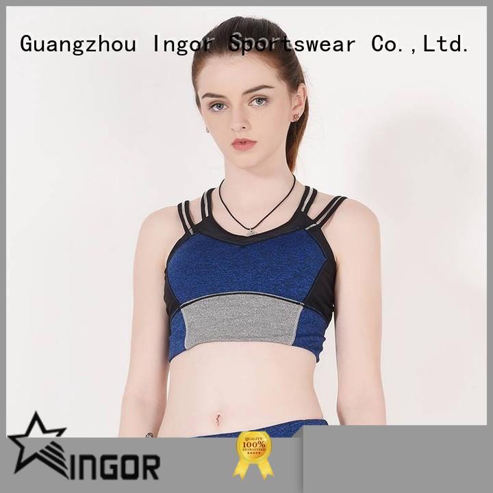 sexy strap INGOR Brand sports bra