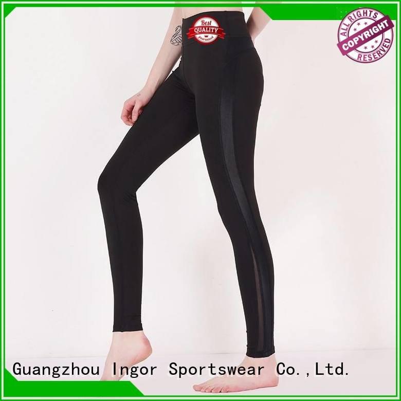 ladies leggings plain yoga pants INGOR Brand