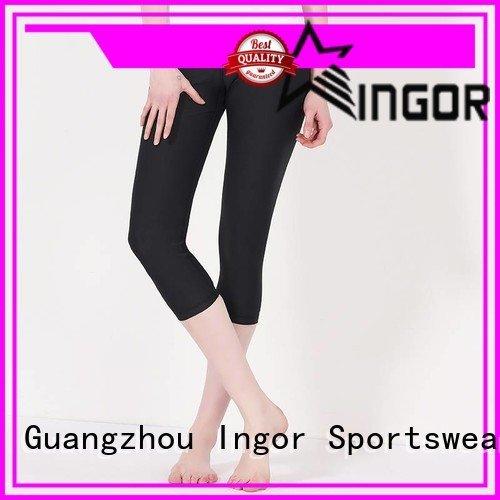 ladies leggings black waist INGOR Brand