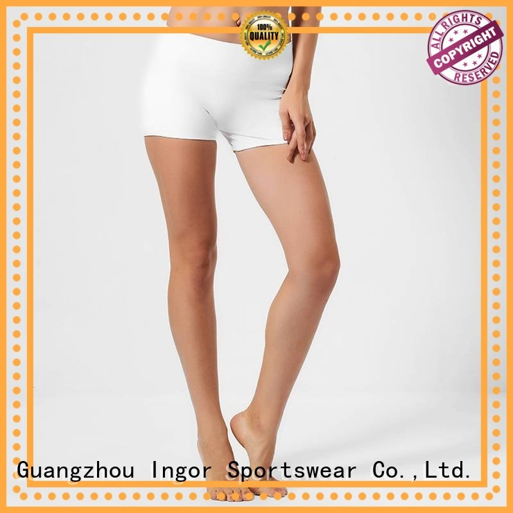 INGOR Brand womens white running women's running shorts