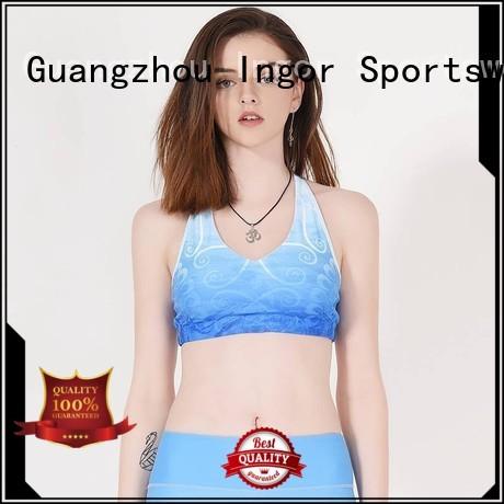 colorful sports bras women Bulk Buy yoga INGOR