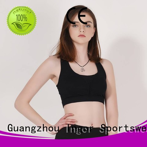 colorful sports bras purple pink Bulk Buy grey INGOR