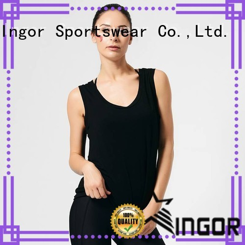 Wholesale personalized sports tank top INGOR Brand