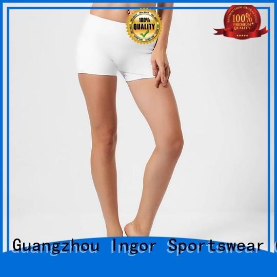 Custom waisted workout wholesale women's shorts INGOR jogger