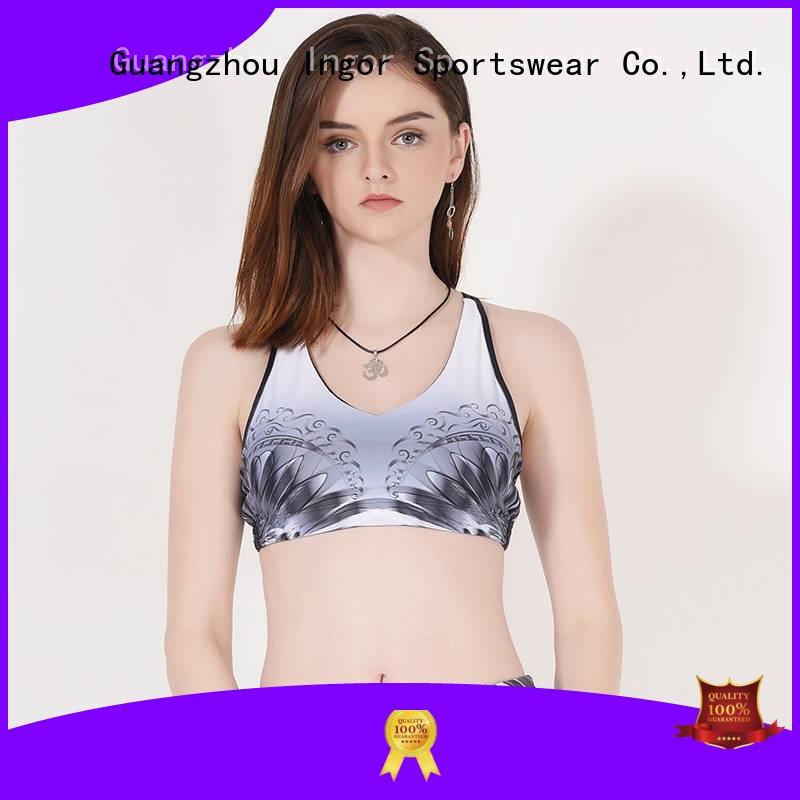 colorful sports bras performance sports bra INGOR Brand