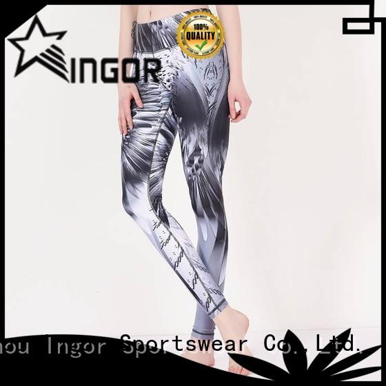 ladies leggings plain dress yoga pants printed INGOR Brand