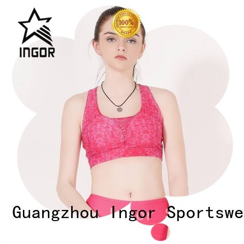 colorful sports bras quality womens comfortable Warranty INGOR