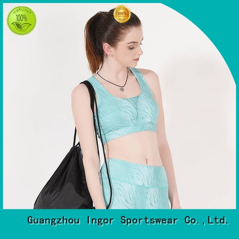 INGOR Brand workout companies sports bra manufacture