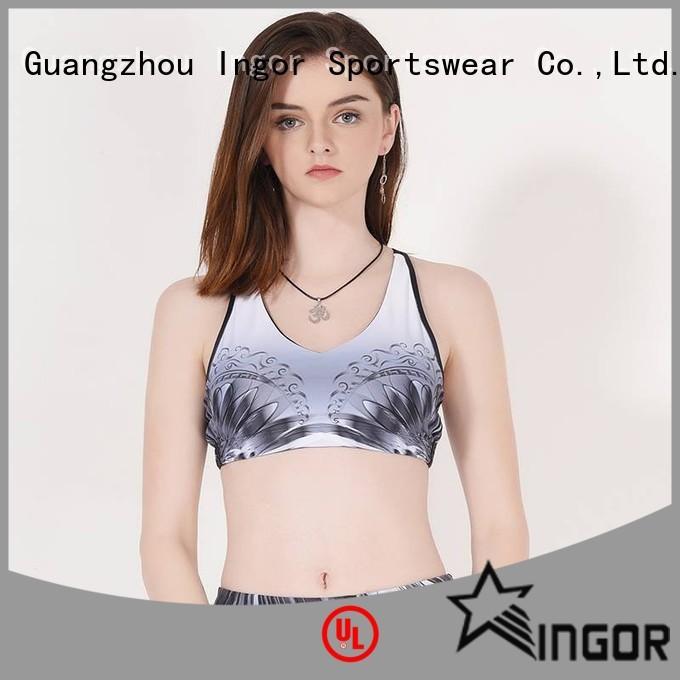 Quality INGOR Brand designer sports bra