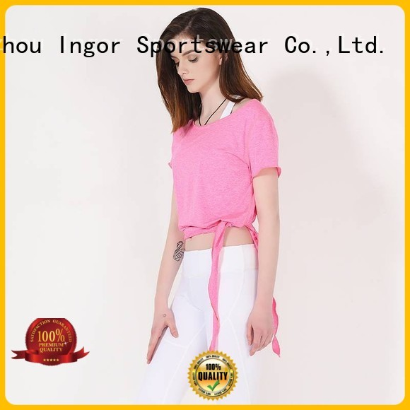 design criss tank top yoga bulk INGOR company