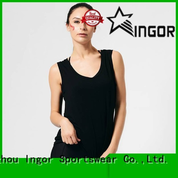 women's workout tank tops fashion shirts Warranty INGOR