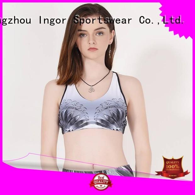 colorful sports bras women activewear companies Warranty INGOR