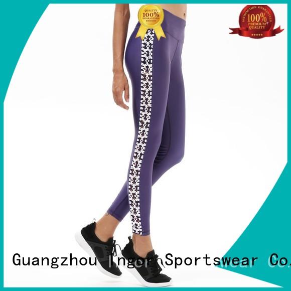 ladies leggings brands tights plain INGOR Brand yoga pants