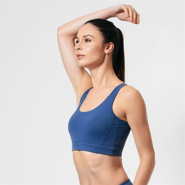 Gym Womens High Impact Sports Bra LWH01
