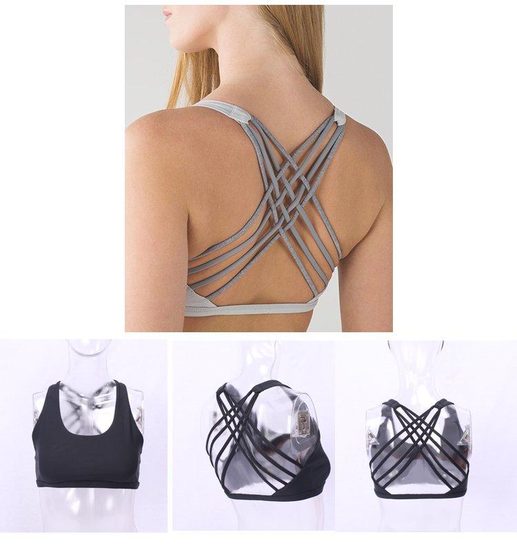 purple Custom activewear sports bra pink INGOR
