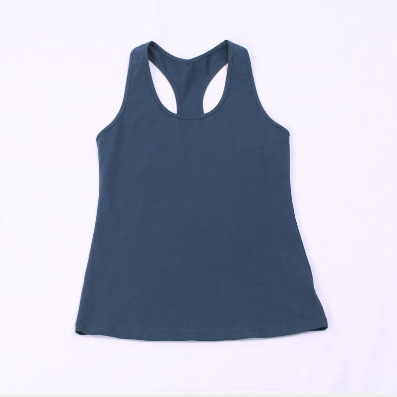 Fashion summer custom plain racerback workout tank top design womens