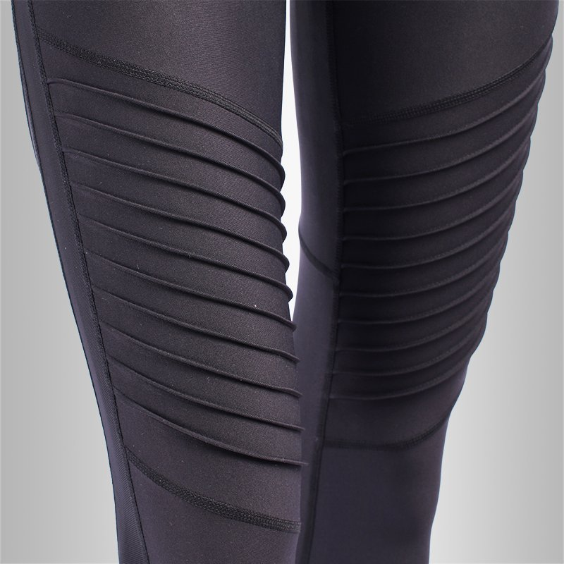 Women High Waisted Black Yoga Tights Leggings Pants JK11P021