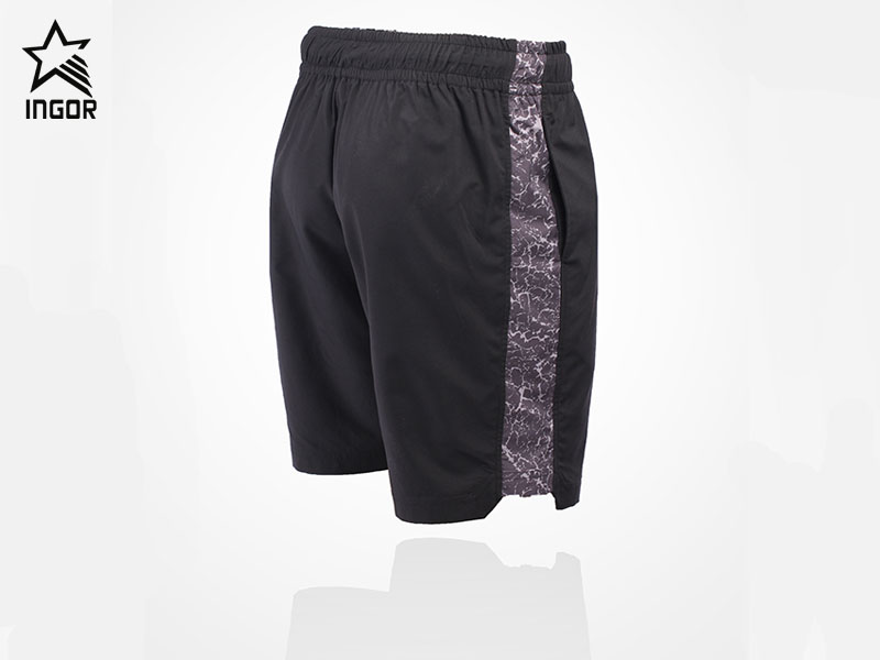 running shorts with Lace-up elastic waist JK12D009