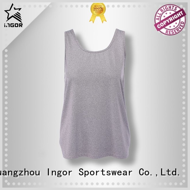 women's workout tank tops lycra womens INGOR Brand