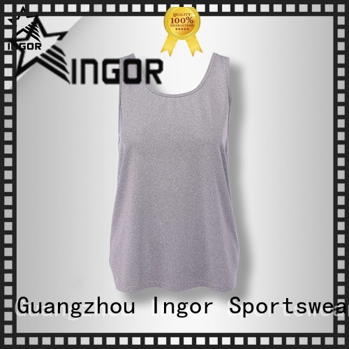 Quality INGOR Brand women's workout tank tops womens