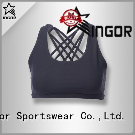 INGOR Brand tops colorful sports bras red supplier