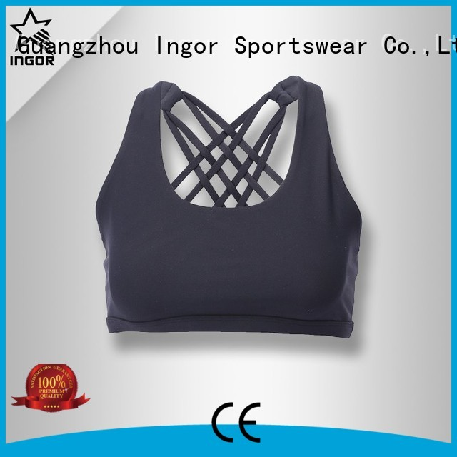 purple Custom activewear sports bra pink INGOR