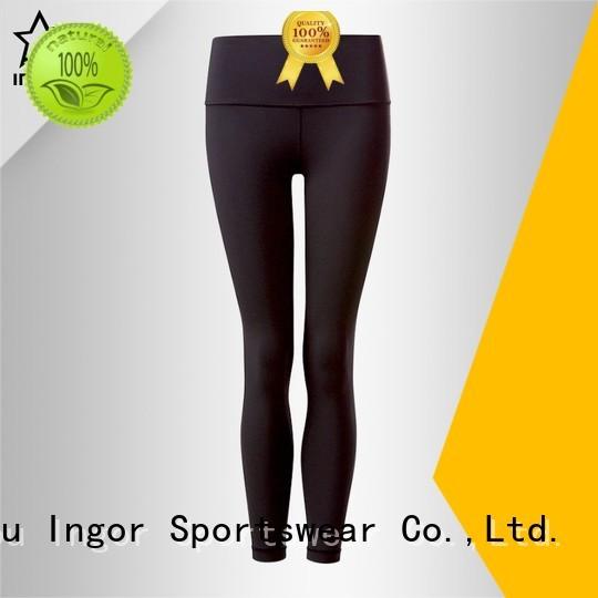 ladies leggings spandex yoga pants INGOR Brand