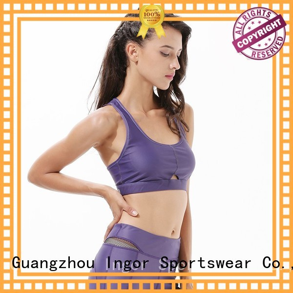 companies running colorful sports bras INGOR Brand