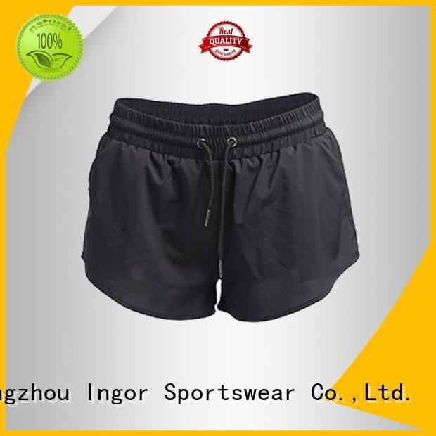 Quality INGOR Brand women's running shorts shorts