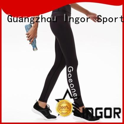 Hot exercise yoga pants capri yoga INGOR Brand
