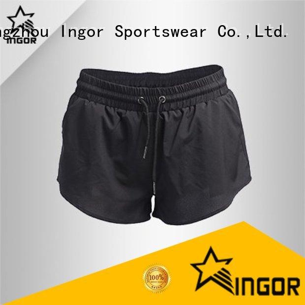 yoga workout INGOR Brand women's running shorts