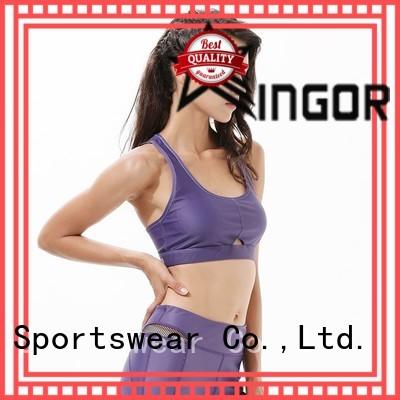 INGOR Brand purple colorful sports bras medium supplier